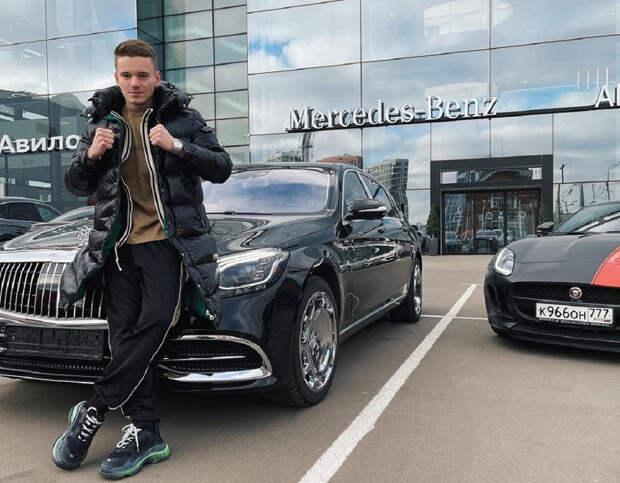 Иосиф Пригожин оценил новую машину сына Валерии