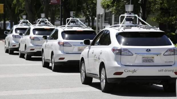 Прототипы беспилотных автомобилей Google