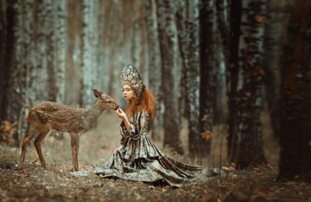 Магические фотосессии сживотными Анастасии Добровольской