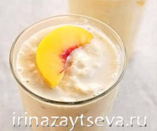 Смузи из персика — лучик солнца в вашем бокале