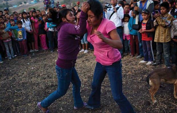 Фестиваль дождя в селах Нахуа и Герреро.
