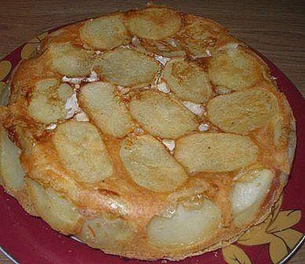 Сытный пирог для всей семьи