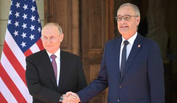 Президент Швейцарии рассказал, за что ценит Путина