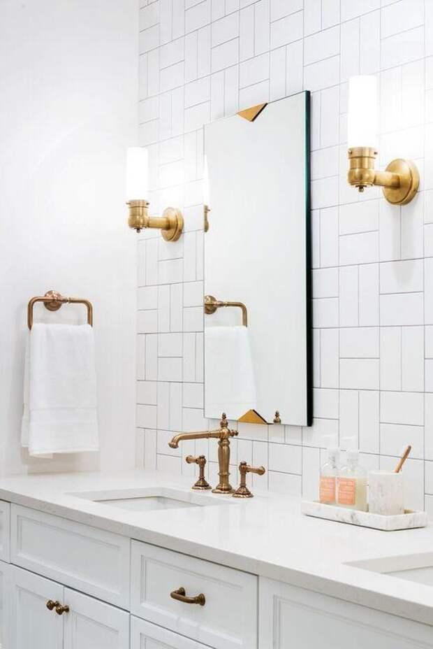 8 незаурядных идей раскладки плитки в ванной комнате