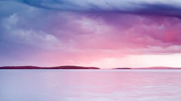 Озеро Куйто: зеркальная дуга в Карельской Тайге