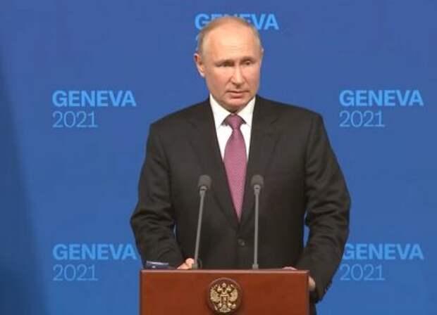 Путин развеял главную предвыборную интригу