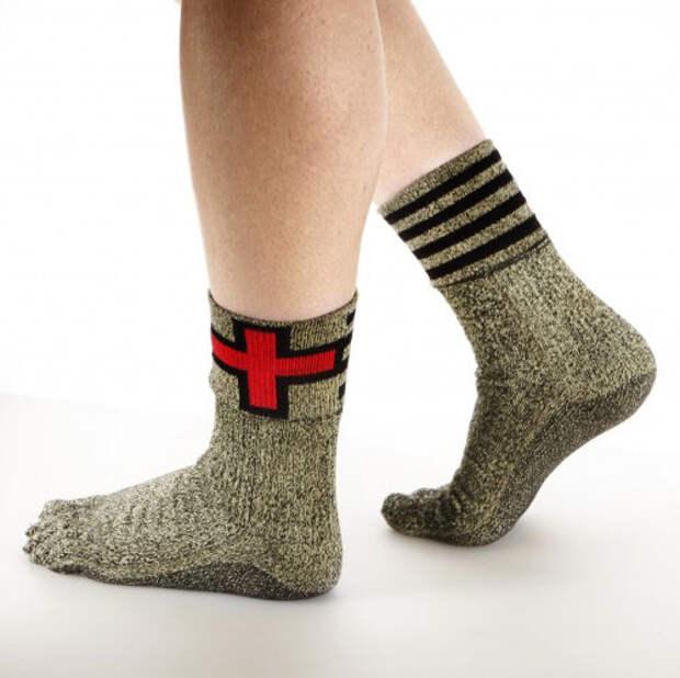 Носки, заменяющие обувь