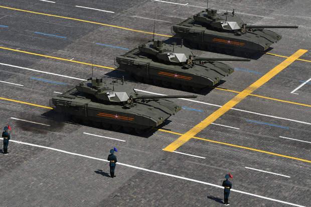 """В Казанском танковом училище изучают танки Т-14 на платформе """"Армата"""""""