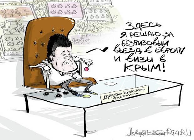 Путин о реакции Порошенко на его визит в Крым: крымчане сделали выбор