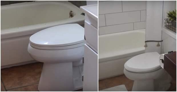 Уютное преображение ванной своими руками