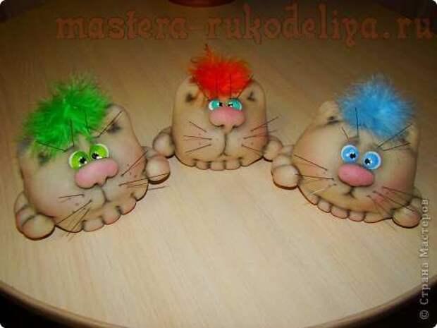 Мастер-класс по шитью игрушек: Котошарик