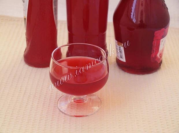 Спиртные напитки. Вишнёвый ликёр