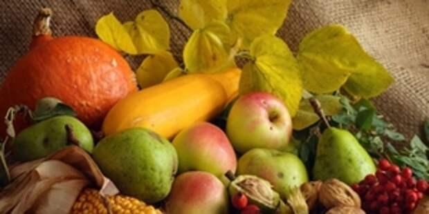 Полезные продукты сентября