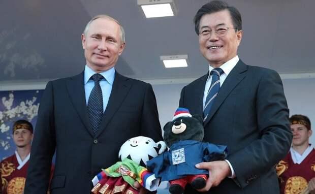Дерипаска поучаствует впереговорах Путина иМун Чжэ Ина
