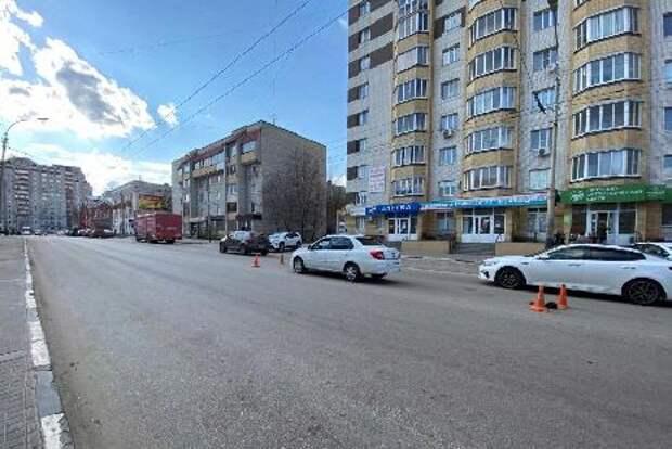 В центре Тамбова водитель иномарки сбил 11-летнего мальчика, перебегавшего дорогу