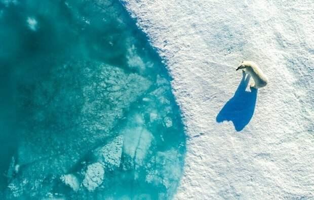 Чудеса снебес: 12 лучших фотографий сконкурса дрон-фотографии