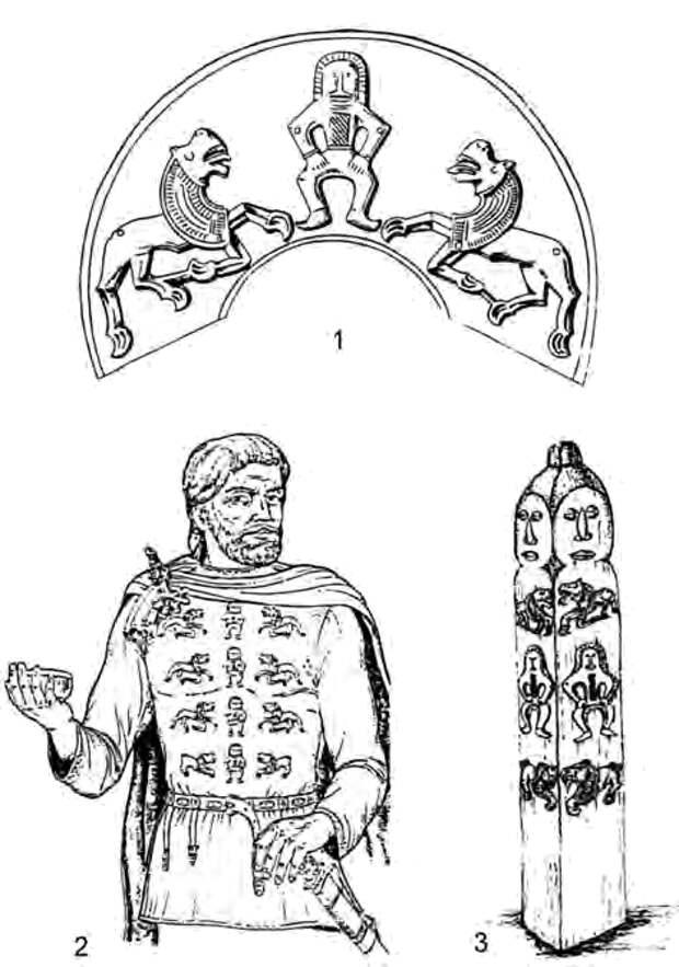 Варианты реконструкции использования «мартыновских фигурок»