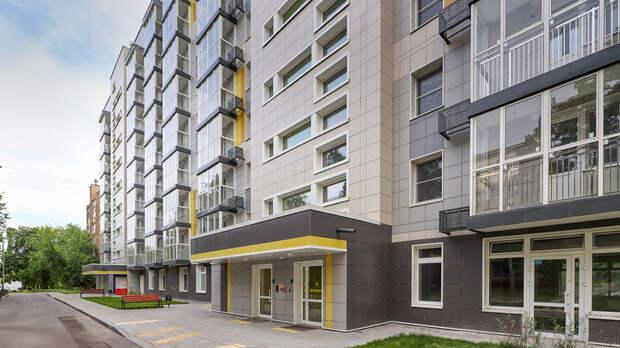 Семь домов ввели в эксплуатацию по программе реновации с начала 2020 года