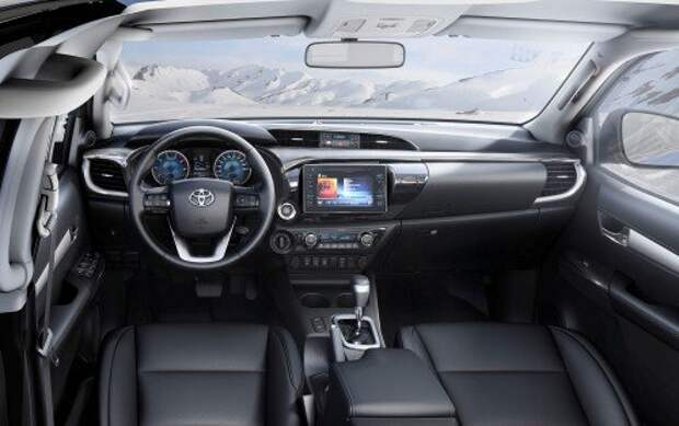Toyota Hilux, 2015 г.