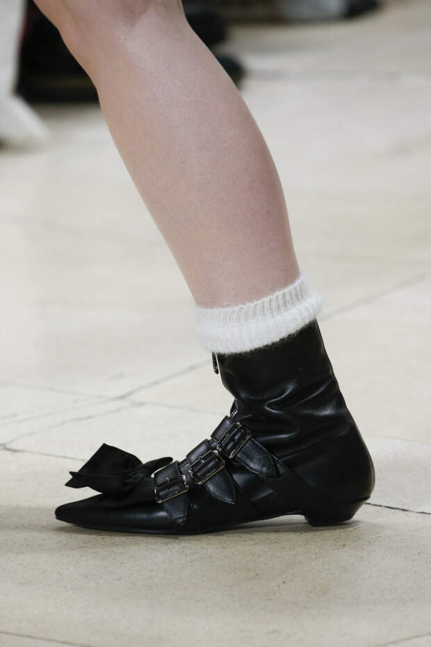 Модная обувь на осень 2018. Коллекция FW 2018-2019 Miu Miu