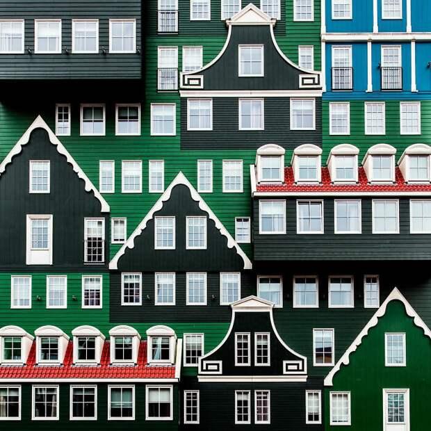 крутой городской дизайн