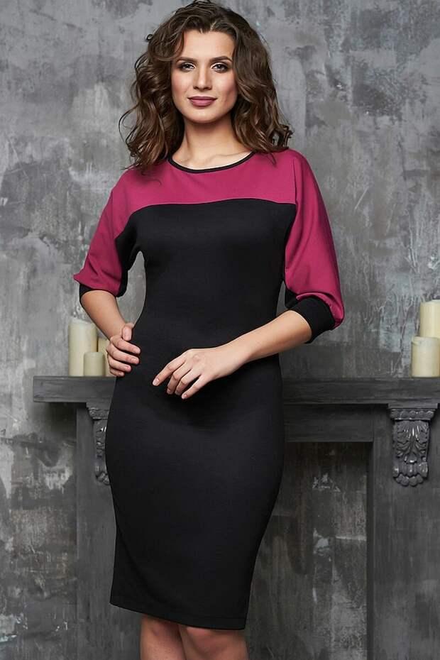 Как выглядит платье с контрастным верхом? Показываем. /Фото: beauti-full.ru