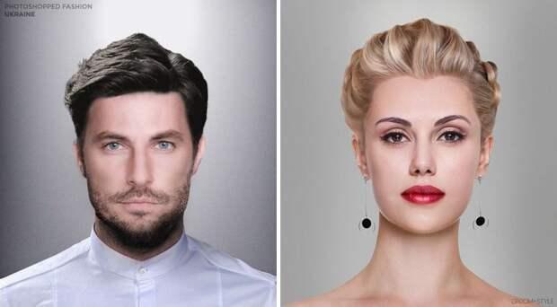 Как выглядят идеальные мужчина и женщина в разных странах: эксперимент