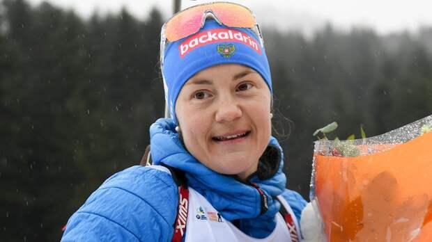 Юрлова-Перхт может выступить на Олимпиаде-2022. Сейчас она ждет 2-го ребенка