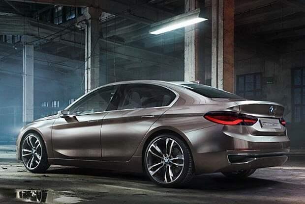 BMW Compact Sedan Concept анонсировал новую «единичку» (ФОТО)