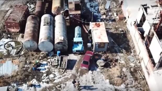 Подпольный нефтезавод приказал долго жить