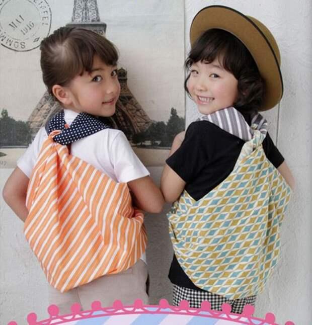Рюкзак из платков своими руками