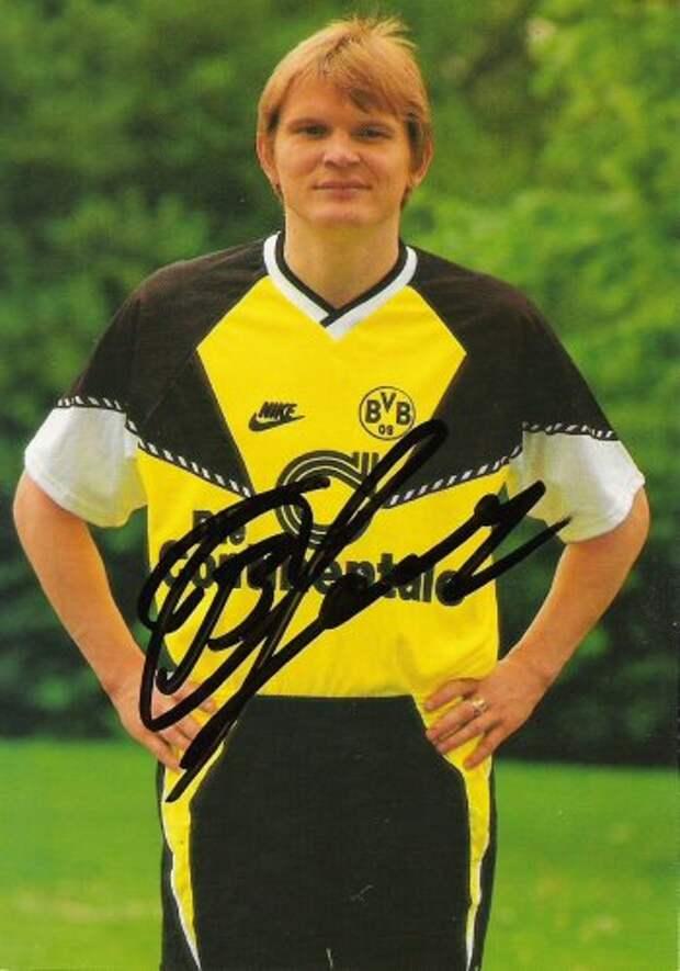 Футбол 90-ых: Сергей Горлукович в дортмундской «Боруссии».