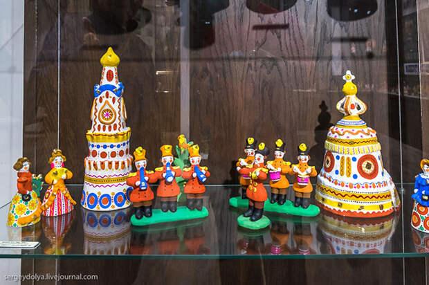 Дымковская игрушка и Вятская азбука