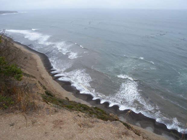 Загадочное явление на пляже
