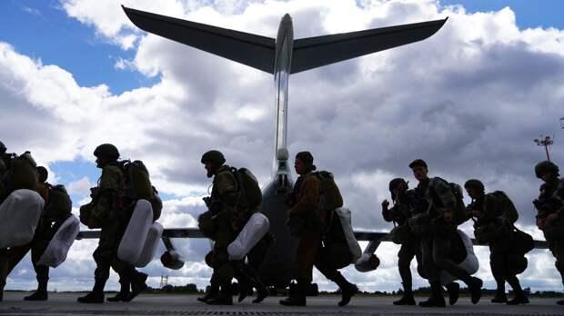 Ульяновские десантники вернулись в пункт дислокации после маневров «Запад-2021»