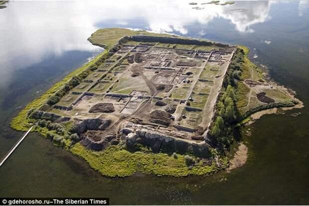 Загадочная древняя крепость династии Тан на территории России