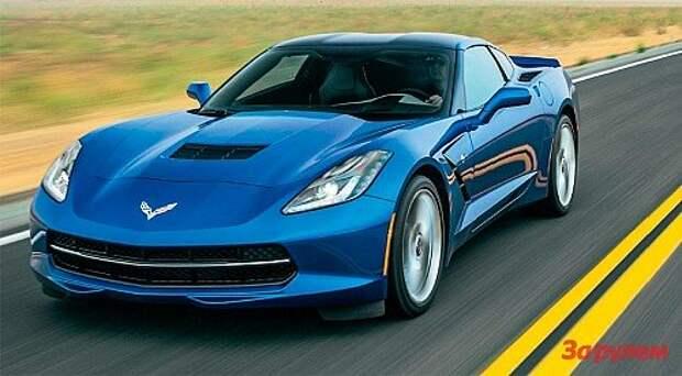Corvette Stingray: тачка G