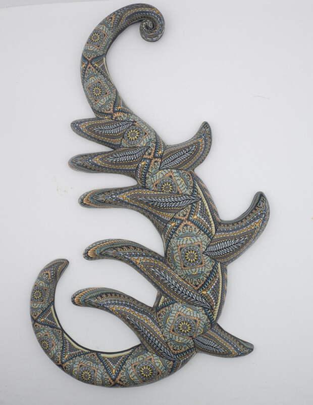 Jon Stuart Anderson. Работы с использованием полимерной глины