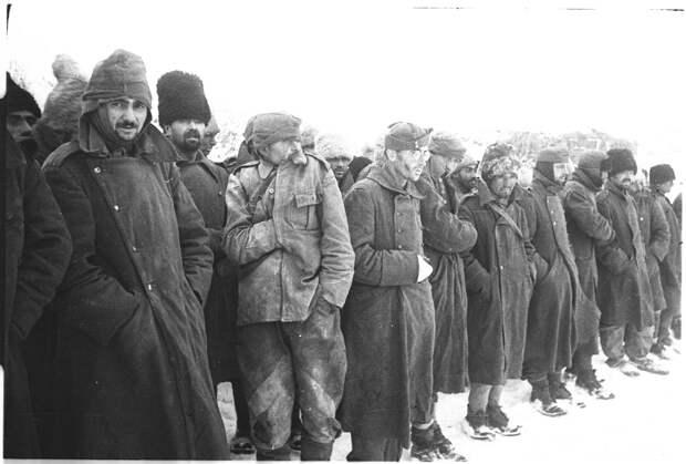 Румынские военнопленные