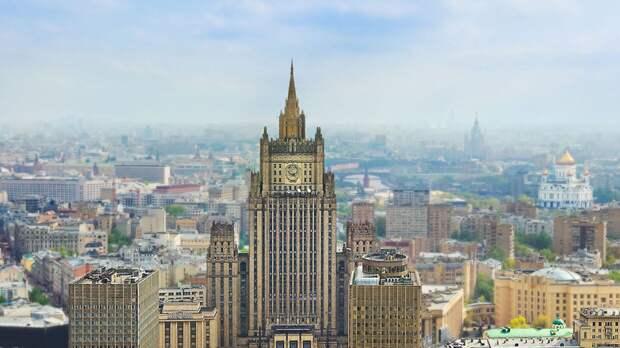 Пять дипломатов останутся в посольстве Чехии по решению МИД России