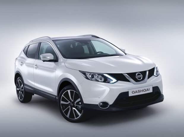 Nissan Qashqai стал самым продаваемым кроссовером в Европе