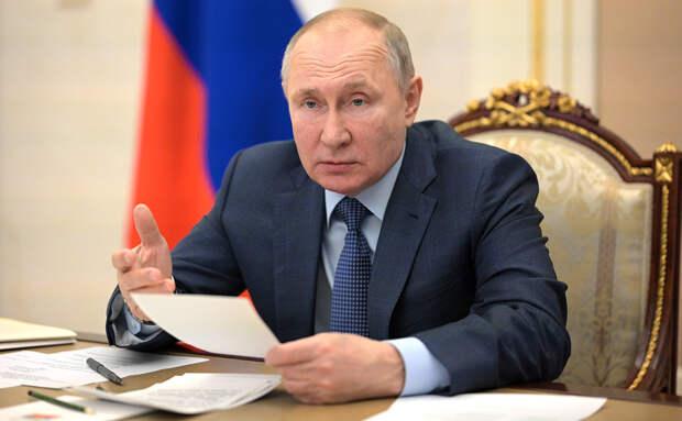 Путин поручил обеспечить реализацию закона о прожиточном минимуме должников с 1 октября