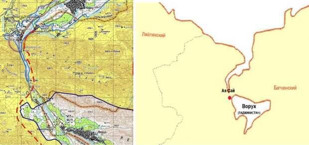 Киргизия – Узбекистан – Таджикистан: проблемные границы