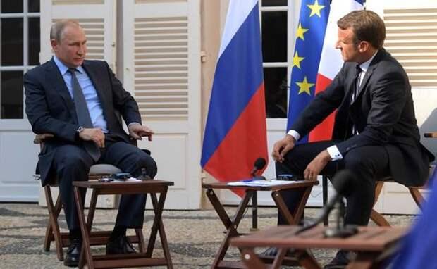 План Макрона: дружить с Россией и править Европой