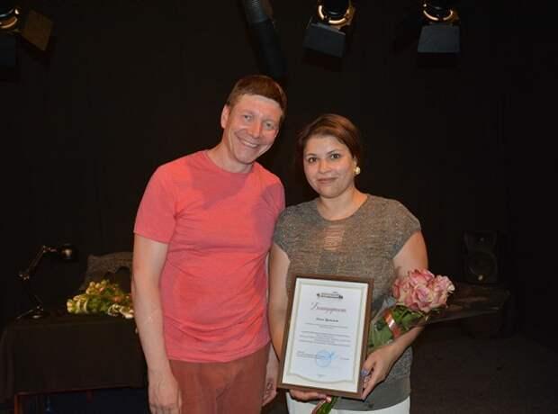 В Севастополе состоялась премьера моноспектакля «Оскар и Розовая Дама»