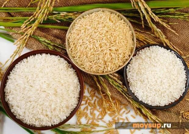 Салат с рисом и грибами «Фантазия»