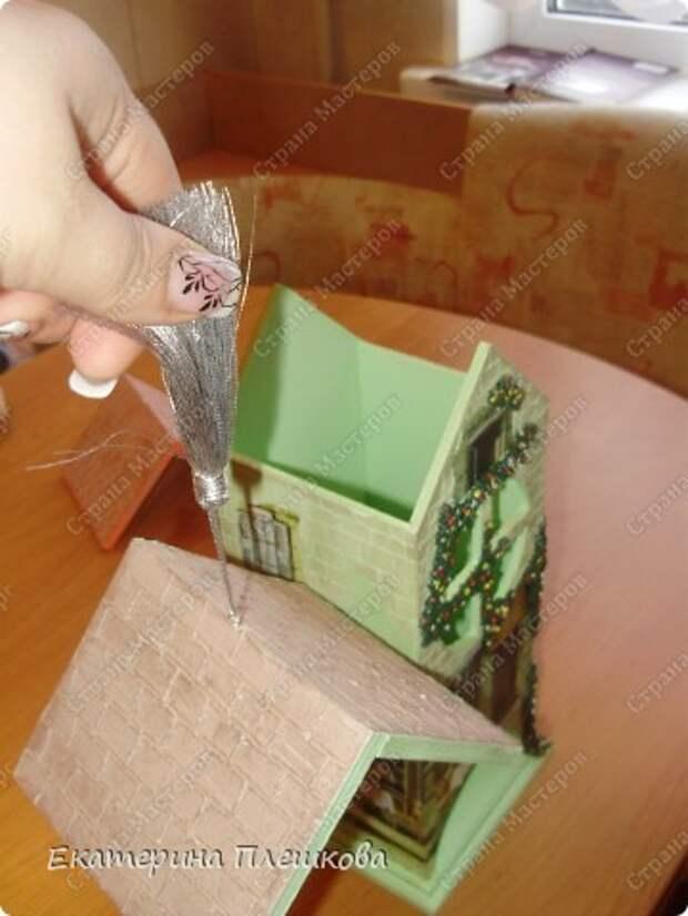 Декор предметов Мастер-класс 8 марта День рождения Декупаж МК Чайного домика Бумага Дерево Крупа фото 40