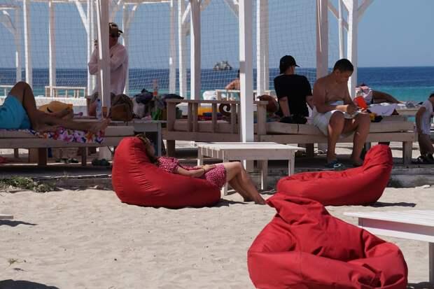 Российские туристы предпочитают ночевать в палатках