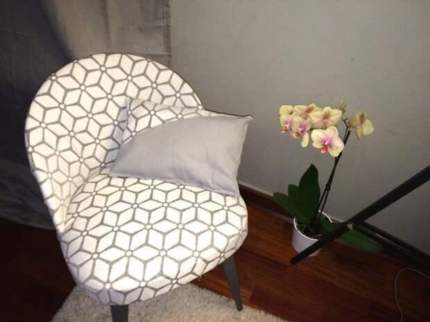 Перетяжка старого стула (Diy)