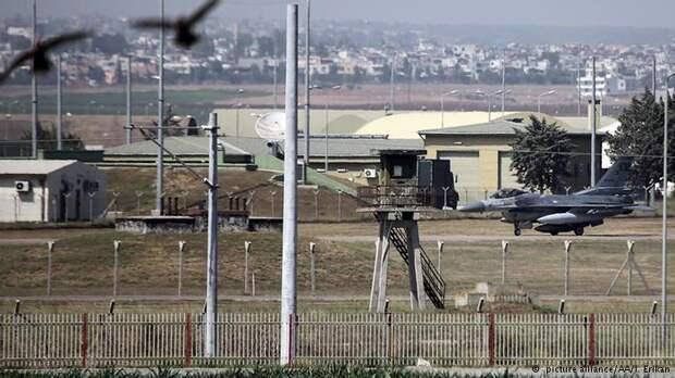 База ВВС Инджирлик в Турции, которой пользуется авиация США